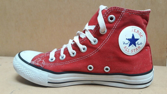 Zapatillas Botitas All Star Converse Usadas Us 5 25 Cms
