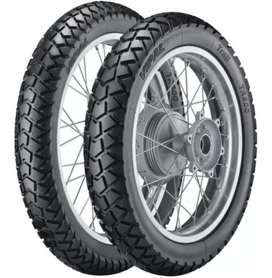 Roda Traseira+dianteira Bros 125/150 Tambor Completa