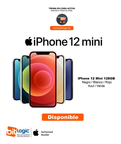 Apple iPhone Mini 128gb Negro / Blanco / Rojo / Azul / Verde