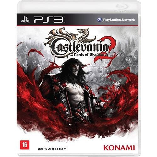 Ps3 Castlevania , Lord Of Shadow 2, Midia Fisica, Novo ,