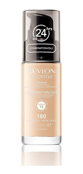 Base Líquida Colorstay Pump Oily Skin Sand Beige 180 30ml