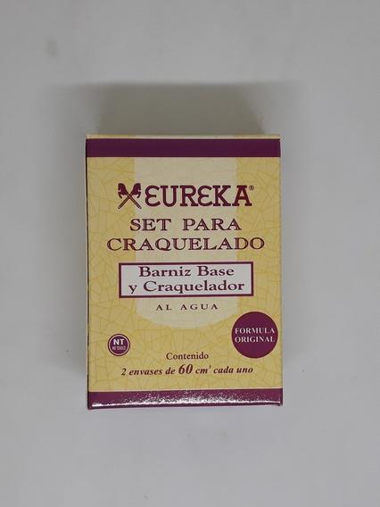 Set De Craquelado Eureka 2 Componentes X 60cc