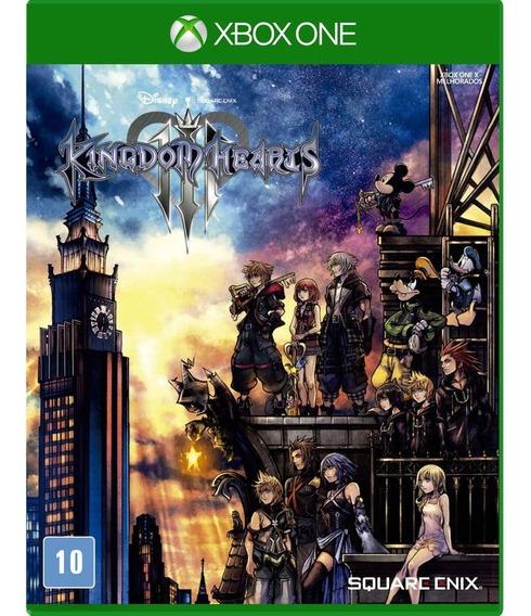 Game Kingdom Hearts Iii - Xbox One Mídia Física Lacrado Novo