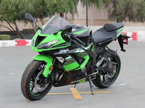 Kawasaki Zx 636 R Deportiva Sport Calle Pista Moto