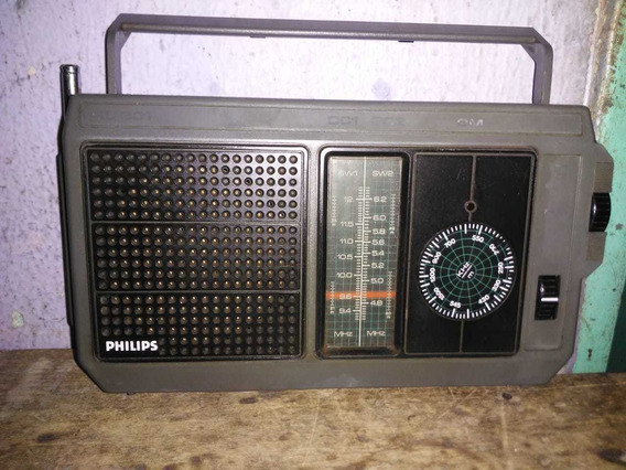 Radio Philips Am 3 Faixas
