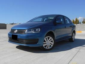 Volkswagen Vento 1.6 Starline At 2018 Azul