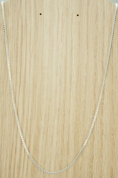 Corrente Veneziana Unissex 60 Cm (d10,4) Prata 925