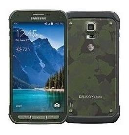 Samsung Galaxy G870a S5 Activo Para At & T [camo Verde]
