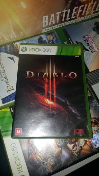 Diablo 3 Xbox 360 Midia Fisica Dublado Pt Br (usado)