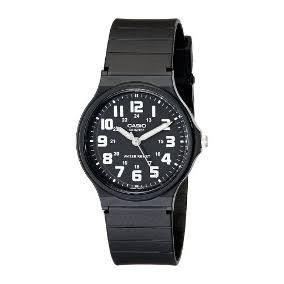 Lote 5 Relojes Casio De Manecillas Con Carátula Negra