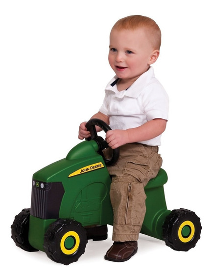 Juguete Jhon Deere Sit-n-scoot Tractor Niños Paseo Hm4