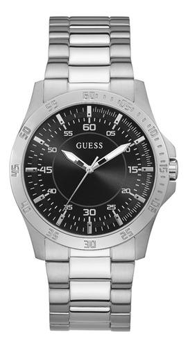 Reloj Para Hombre Guess Colby Color Plateado Gw0207g1