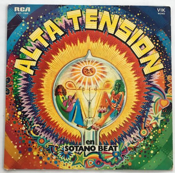 Disco Alta Tension En Sotano Beat Vinilo