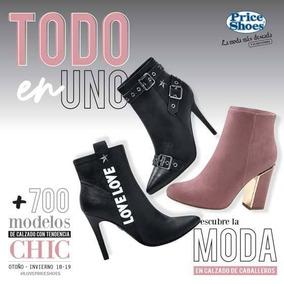 2dbc5cb8bd Catalogo Price Shoes Botines en Mercado Libre México