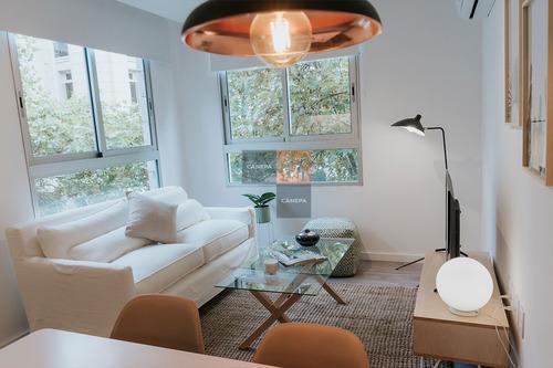 Apartamento 1 Dormitorio En El Centro- Ref: 6852