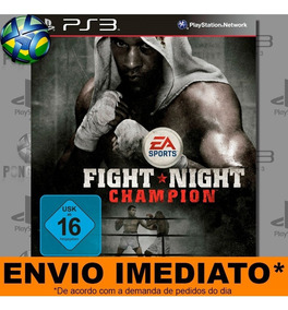 Ps3 Fight Night Champion Mídia Digital Psn Envio Agora