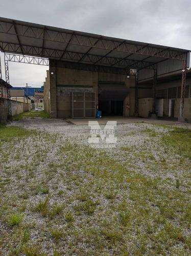 Galpão Para Alugar, 1291 M² Por R$ 18.000,02/mês - Cidade Industrial Satélite De São Paulo - Guarulhos/sp - Ga0093
