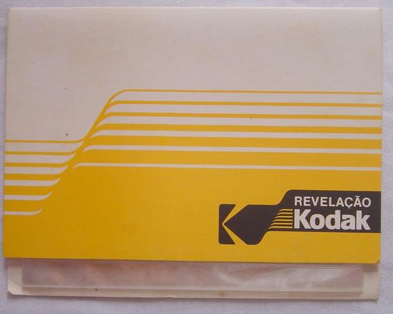 Álbum Antigo De Revelação Kodak - Medindo 17x12cm # 066