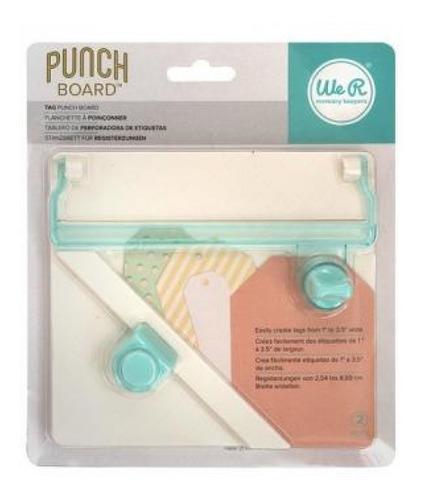 Imagem 1 de 2 de We R - Tag Punch Board