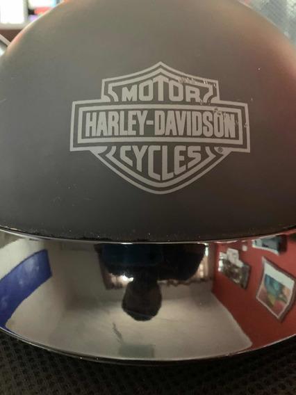 Capacete Harley Davidson Original (coquinho) Aberto - Large