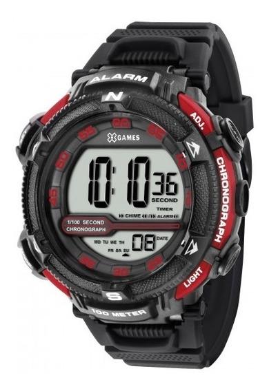 Relógio Xgames Xmppd315 Bxpx Masculino Preto Digit- Refinado