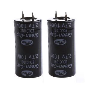 10x Super Capacitor 100f 2.7v Eletrolítico - Pronta Entrega