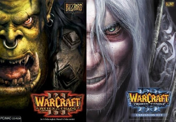Envio Rapido! Warcraft 3 + Frozen Throne + Age Of Empires 3