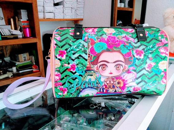 Bolso Para Dama De Frida Kahlo En Paris Grande