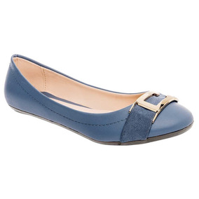 Zapato De Piso Dama Nena Lhoka 720-1 Azul 22-26 80343 T2