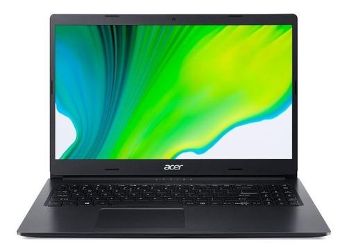 "Notebook Acer Aspire 3 A315-23 preta 15.6"", AMD Ryzen 3 3250U 8GB de RAM 1TB HDD, AMD Radeon Vega 3 1366x768px Windows 10 Home"
