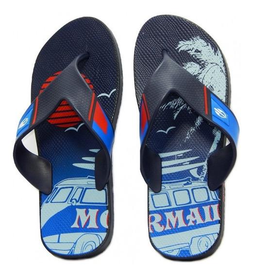 Chinelo Mormaii Neocycle I Infantil 10897 - Azul/azul/vermel