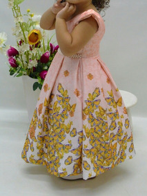 Vestido Lindo Infantil - Pronta Entrega
