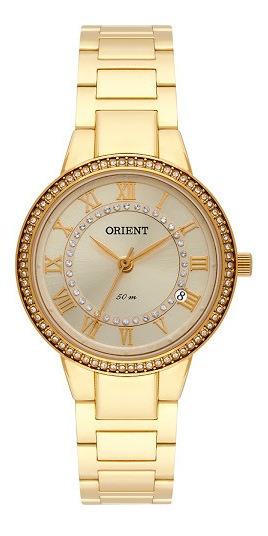 Relogio Orient Feminino Dourado A Prova Dagua Fgss1167 C3kx