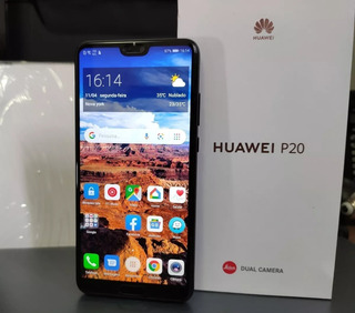 Huawei P20 128gb, 6gb De Ram Praticamente Novo