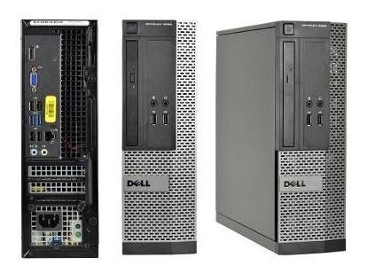 Cpu Dell 3020 Mini Core I5 Quarta Geração Hd 500gb 4gb Dvdrw