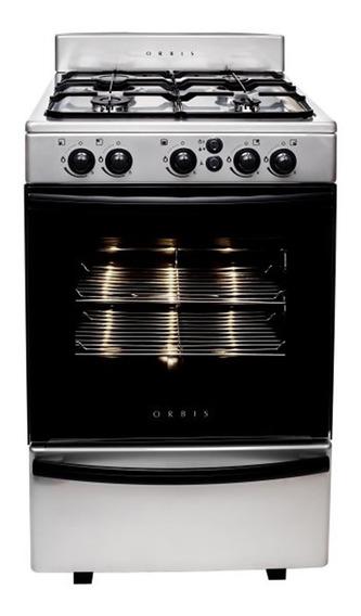 Cocina Multigas Orbis Macrovision 858ac3m Acero Inox 55 Cm