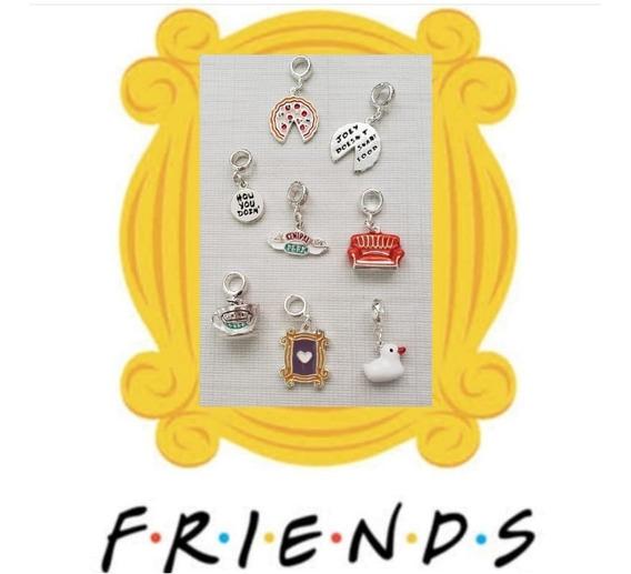 1 Berloque Da Série Friends Banhado A Prata