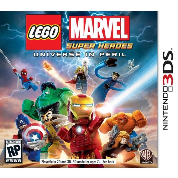 Lego Marvel Super Heroes - 3ds Mídia Física Lacrado