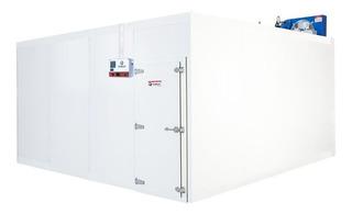 Câmara Fria Gallant 4x4 Congelado C/ Piso Cond Danf 220v/3f