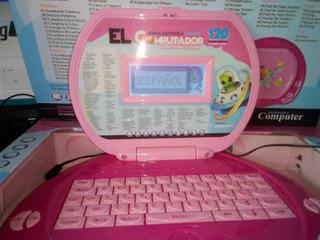 Computador Didáctico Infantil Niña