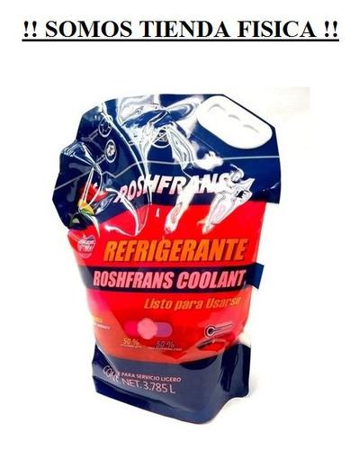 Refrigerante Roshfrans Coolant 50/50 Galon 3.785l