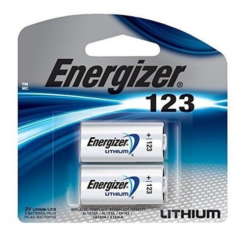 Imagen 1 de 6 de Energizer El123apb2 Bateria Estandar De Camara