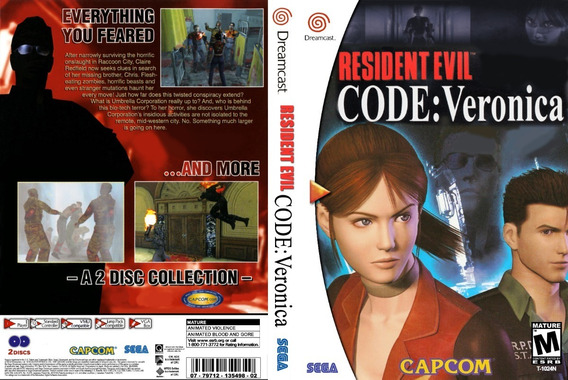 Resident Evil Code Verônica - Dreamcast - Patch - Self Boot