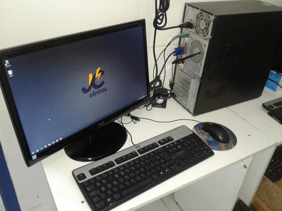 Computador Pc Desktop 8gb Dvi Hd 400gb Core 2 Duo E8400 3.0