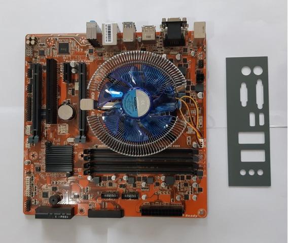 Kit G4400 + Placa Itautec Hdmi Dvi Ddr4 Até 64gb C/ Garantia