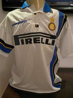 Camisa Inter De Milão Do Ronaldo Fenômeno
