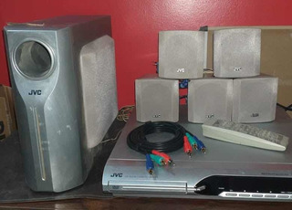 Dvd + Home Theater Jvc, No Philips, No Panasonic, No LG