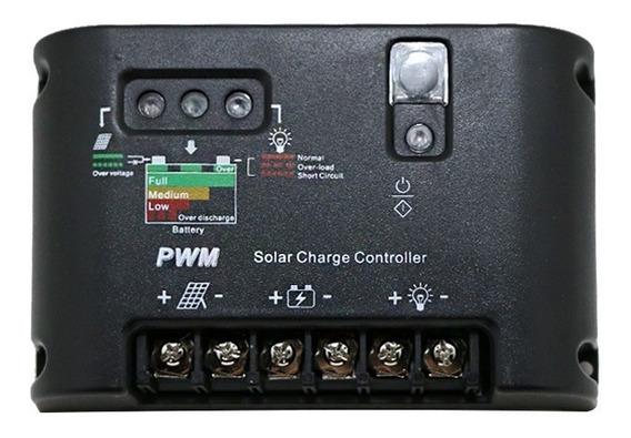 Controlador De Carga 40a - Pwm - 12v/24v