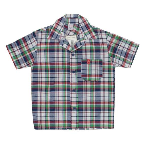 Camisa Varón Nene Verano Manga Corta Regalosdemama