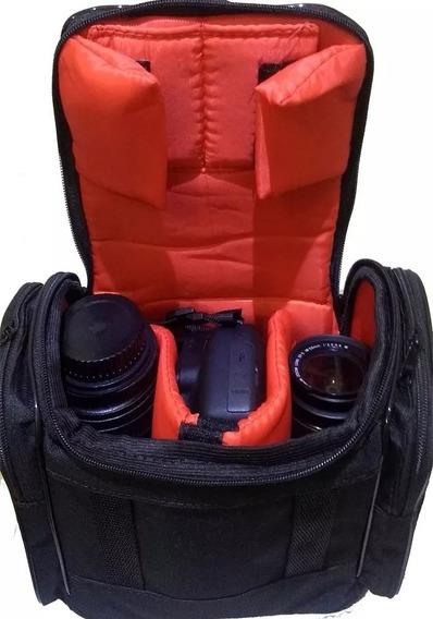 Bolsa Capa Case Arm Canon T5 T3i T4i T5i T6i Dslr T6s T7i